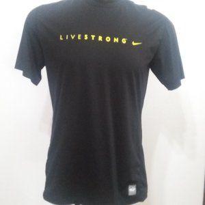 Nike Pro Combat black & yellow dri-fit shirt
